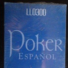 Barajas de cartas: BARAJA POKER ESPAÑOL. CAJA SIN ABRIR DE 55 NAIPES PLASTIFICADOS.. Lote 48592063