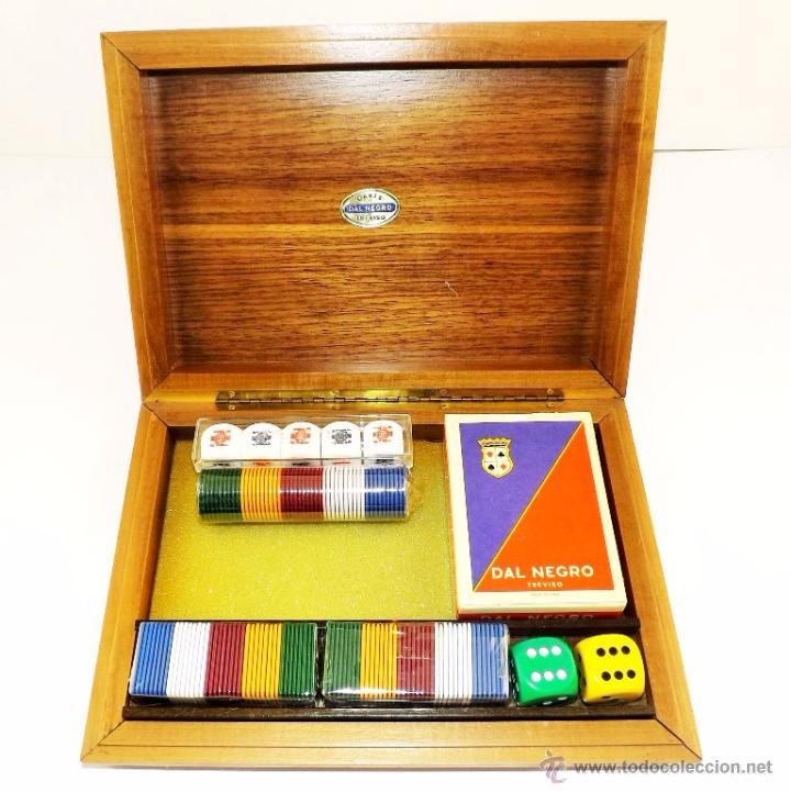 DAL NEGRO SET (Juguetes y Juegos - Cartas y Naipes - Barajas de Póker)