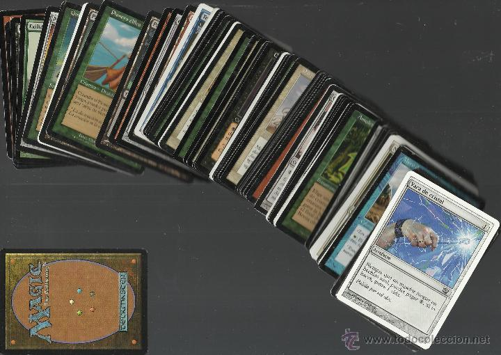 OPORTUNIDAD 100 CARTAS MAGIC DISTINTAS LOTE 1 (Juguetes y Juegos - Cartas y Naipes - Otras Barajas)