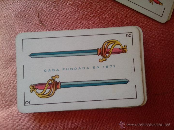 Barajas de cartas: Baraja de cartas Simeón Durá (Valencia) - Foto 3 - 48636540