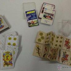 Barajas de cartas: TRES PEQUEÑAS BARAJAS INFANTILES. Lote 48730094