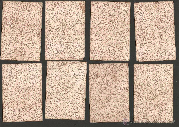 Barajas de cartas: BARAJA CARTAS FABRICA DE MADRID-VDA . DE GOMBAU E HIJOS 1882-COMPLETA 40 CARTAS-VER FOTOS-(CR-817) - Foto 3 - 48775610