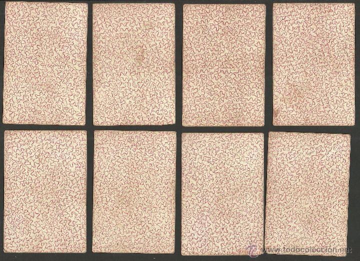 Barajas de cartas: BARAJA CARTAS FABRICA DE MADRID-VDA . DE GOMBAU E HIJOS 1882-COMPLETA 40 CARTAS-VER FOTOS-(CR-817) - Foto 5 - 48775610