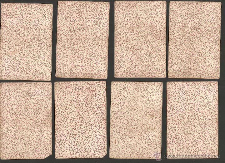 Barajas de cartas: BARAJA CARTAS FABRICA DE MADRID-VDA . DE GOMBAU E HIJOS 1882-COMPLETA 40 CARTAS-VER FOTOS-(CR-817) - Foto 7 - 48775610