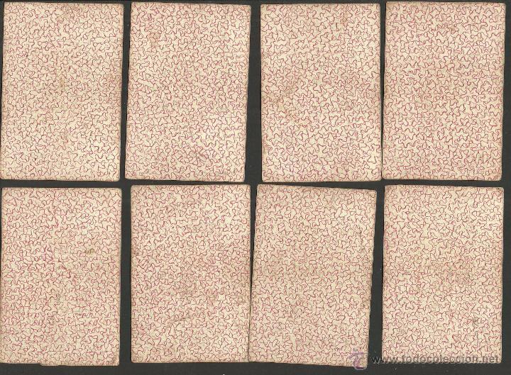 Barajas de cartas: BARAJA CARTAS FABRICA DE MADRID-VDA . DE GOMBAU E HIJOS 1882-COMPLETA 40 CARTAS-VER FOTOS-(CR-817) - Foto 9 - 48775610
