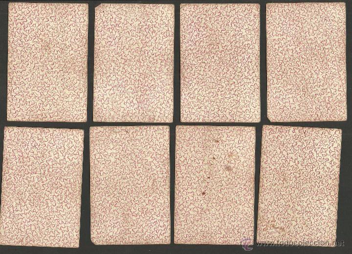 Barajas de cartas: BARAJA CARTAS FABRICA DE MADRID-VDA . DE GOMBAU E HIJOS 1882-COMPLETA 40 CARTAS-VER FOTOS-(CR-817) - Foto 11 - 48775610