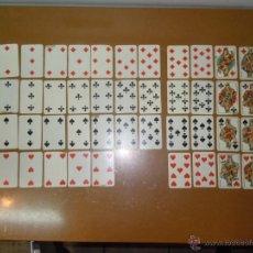 Barajas de cartas: BARAJA DE H. FOURNIER VITORIA (FALTAN 2 CARTAS). Lote 48836767
