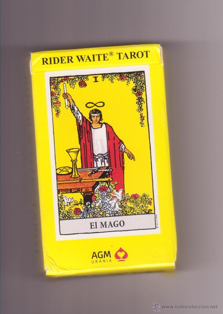 RIDER WAITE TAROT EL MAGO AGM URANIA (Juguetes y Juegos - Cartas y Naipes - Barajas Tarot)