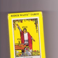 Barajas de cartas: RIDER WAITE TAROT EL MAGO AGM URANIA. Lote 95510919