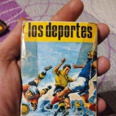 Barajas de cartas: BARAJA DE CARTAS -LOS DEPORTES- COMPLETA!!!. Lote 92972249