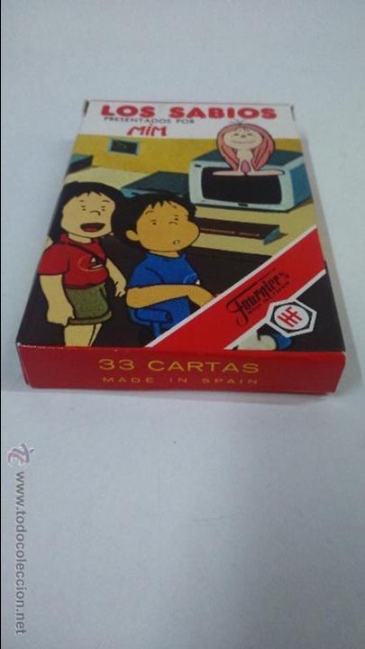 Barajas de cartas: BARAJA INFANTIL LOS SABIOS. HERACLIO FOURNIER ( VITORIA) - Foto 2 - 48954494