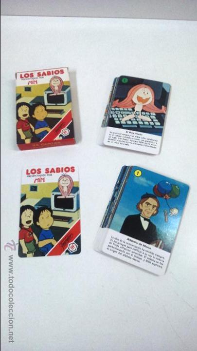 Barajas de cartas: BARAJA INFANTIL LOS SABIOS. HERACLIO FOURNIER ( VITORIA) - Foto 4 - 48954494