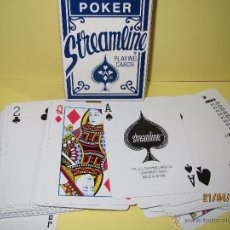 Barajas de cartas: BARAJA DE POKER STREAMLINE MADE IN SPAIN - THE UNITED STATES PLAYING CARD COMPANY. Lote 48996993