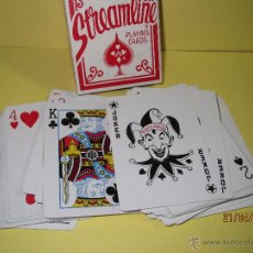 Barajas de cartas: BARAJA DE POKER STREAMLINE ROJA MADE IN SPAIN - THE UNITED STATES PLAYING CARD COMPANY. Lote 48997117