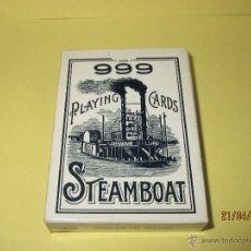 Barajas de cartas: BARAJA DE POKER 999 STEAMBOAT MADE IN SPAIN - THE UNITED STATES PLAYING CARD COMPANY. Lote 48997170