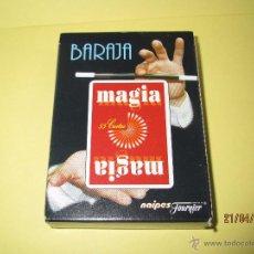 Barajas de cartas: BARAJA MAGIA DE NAIPES HERACLIO FOURNIER SIN PRECINTO NUEVA A ESTRENAR.. Lote 49001679