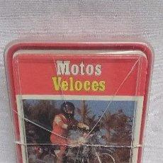 Barajas de cartas: ANTIGUA BARAJA DE CARTAS - MOTOS VELOCES- DE HERACLIO FOURNIER- AÑO 1976. Lote 49019313