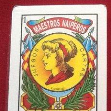 Barajas de cartas: BARAJA AZAHAR, MAESTROS NAIPEROS, PUBLICIDAD FORD CREDIT. Lote 49073319