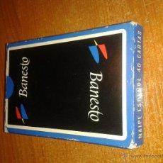 Barajas de cartas: BARAJA DE CARTAS PUBLICIDAD BANESTO. Lote 49124893