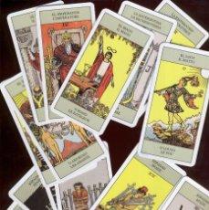 Barajas de cartas: TAROT RIDER WAITE 2001 - LAS 78 CARTAS DEL TAROT PERO SIN CAJA. Lote 49136433