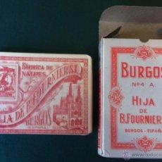 Barajas de cartas: BARAJA POKER Nº 52 BURGOS AÑOS 1940-50 HIJA DE B. FOURNIER SL. POKER INGLES ROJA *NUMISBUR*. Lote 105969495