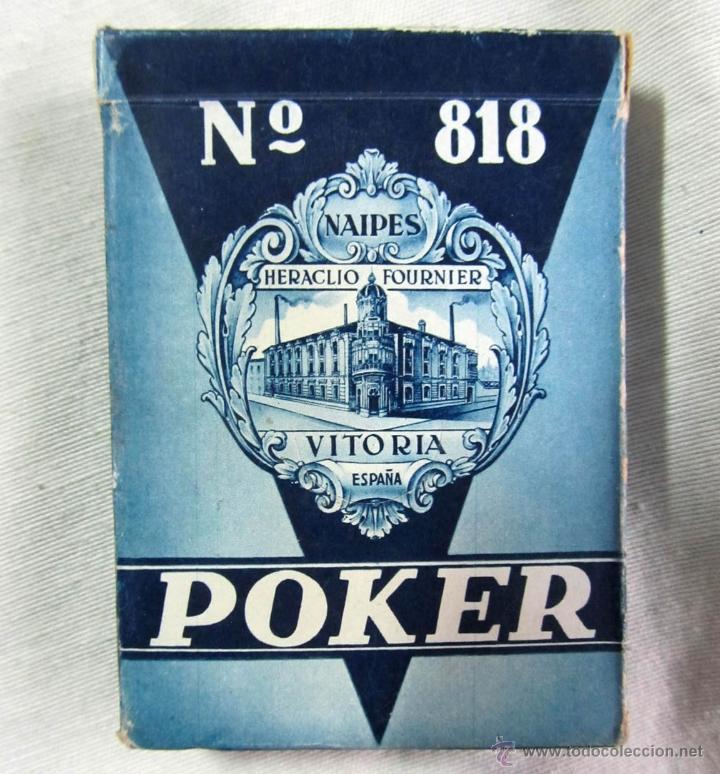 BARAJA DE CARTAS POKER HERACLIO FOURNIER (Juguetes y Juegos - Cartas y Naipes - Barajas de Póker)