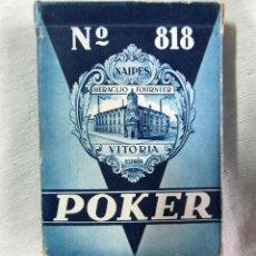 Barajas de cartas: BARAJA DE CARTAS POKER HERACLIO FOURNIER. Lote 49173407