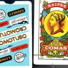 Barajas de cartas: CROMOTUBO - BARAJA ESPAÑOLA DE 50 CARTAS. Lote 49192269