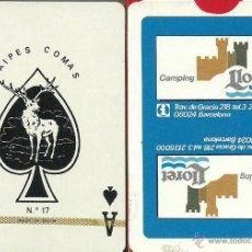 Barajas de cartas: CAMPING LLORET - BARAJA DE POKER. Lote 49192729