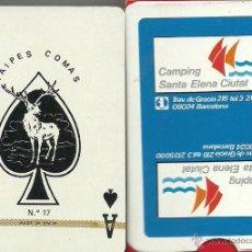 Barajas de cartas: CAMPING SANTA ELENA CIUTAT - BARAJA DE POKER. Lote 49192760
