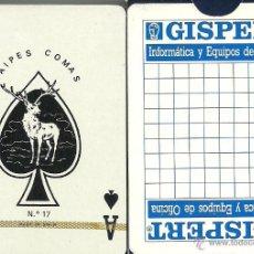 Barajas de cartas: GISPERT - BARAJA DE POKER . Lote 49192790