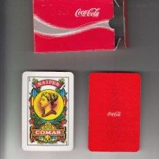 Barajas de cartas: BARAJA PUBLICITARIA DE COCACOLA. DE COMAS 40 CARTAS. Lote 49222286