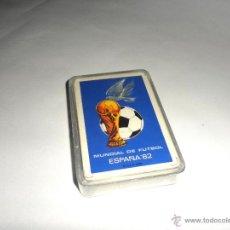 Barajas de cartas: BARAJA FOURNIER PUBLICITARIA DEL MUNDIAL DE FÚTBOL ESPAÑA 82. 48 CARTAS.. Lote 210090842