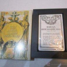 Barajas de cartas: BARAJA IBERO AMERICANA 1929, DE FOURNIER.. Lote 90614680
