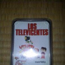 Barajas de cartas: JUEGO DE CARTAS INFANTIL LOS TELEVICENTES. NAIPES COMAS PERFECTO ESTADO. Lote 49383830