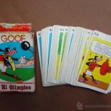Barajas de cartas: ANTIGUA BARAJA INFANTIL DE FOURNIER. GOOF EL OLÍMPICO - PB1. Lote 49392037