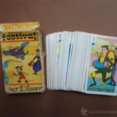 Barajas de cartas: ANTIGUA BARAJA INFANTIL DE FOURNIER. FESTIVAL - DISNEY - PB1. Lote 49392085