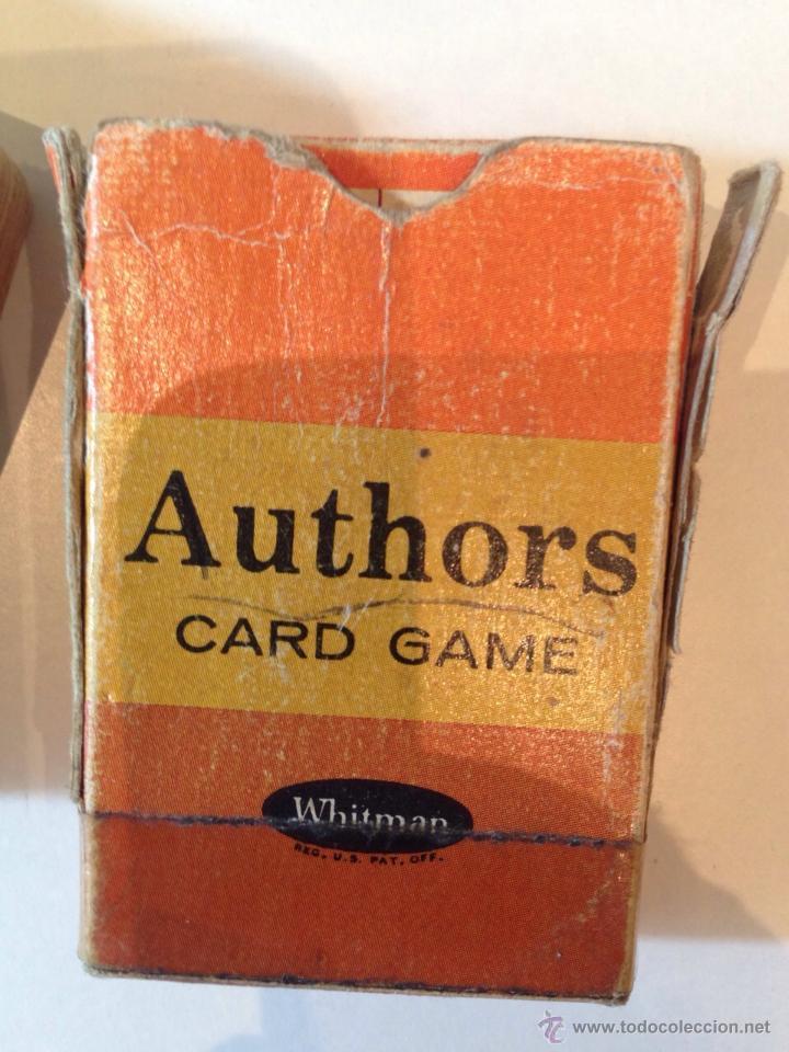 Barajas de cartas: BARAJITA DE CARTAS MARCA WHITMAN AMERICANA - Foto 3 - 49448332