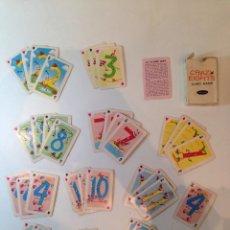 Barajas de cartas: BARAJITA DE CARTAS MARCA WHITMAN CRAZYEIGHTS AMERICANA. Lote 49448346