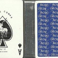 Barajas de cartas: BUCARO - LOMO GRIS - BARAJA DE POKER. Lote 49448431