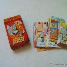 Barajas de cartas: BARAJA DE : JUEGO INFANTIL TOM Y JERRY.- 32 CARTAS DE: HERACLIO FOURNIER- VITORIA-COPYRIGHT-1980. Lote 49495051