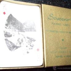 Barajas de cartas: BARAJA DE POKER CON 52 VISTAS DE IRLANDA. Lote 49525412