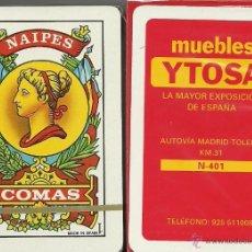Barajas de cartas: MUEBLES YTOSA - BARAJA ESPAÑOLA 40 CARTAS. Lote 49543435