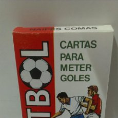Barajas de cartas: BARAJA FUTBOL . NAIPES COMAS . Lote 49545017