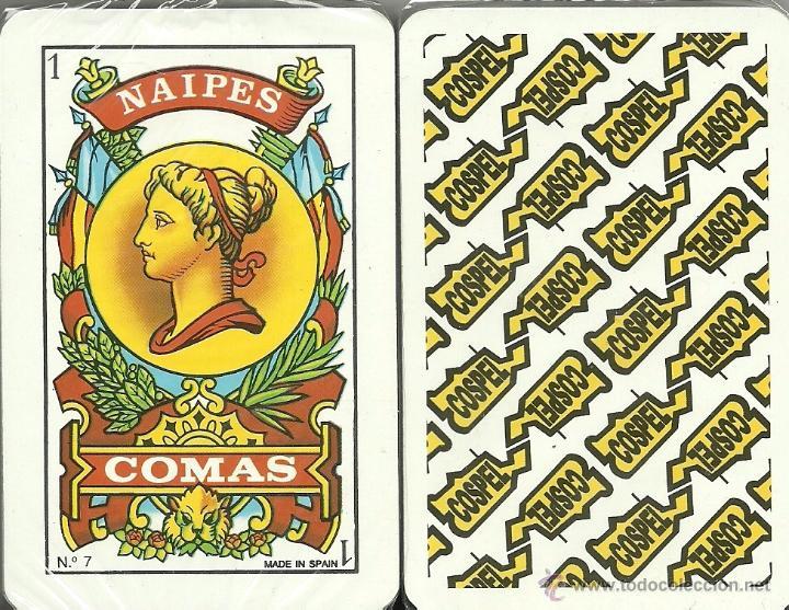 COSPEL - BARAJA ESPAÑOLA 40 CARTAS (Juguetes y Juegos - Cartas y Naipes - Baraja Española)
