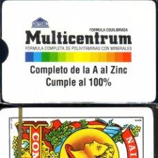 Barajas de cartas: MULTICENTRUM - BARAJA ESPAÑOLA DE 40 CARTAS. Lote 49598408