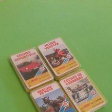 Barajas de cartas: LOTE CON LAS 4 PRIMERAS MINIS DE FOURNIER. Lote 52303507