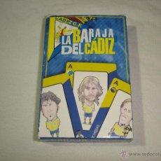 Barajas de cartas: BARAJA CARTAS, NAIPES COMAS - LA BARAJA DEL CADIZ CLUB DE FUTBOL - 40 NAIPES. Lote 49742572