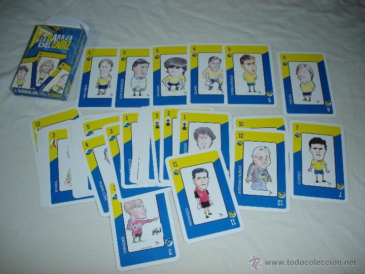 Barajas de cartas: BARAJA CARTAS, NAIPES COMAS - LA BARAJA DEL CADIZ CLUB DE FUTBOL - 40 NAIPES - Foto 2 - 49742572