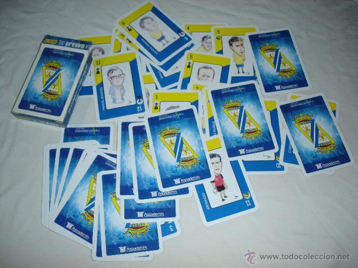 Barajas de cartas: BARAJA CARTAS, NAIPES COMAS - LA BARAJA DEL CADIZ CLUB DE FUTBOL - 40 NAIPES - Foto 3 - 49742572